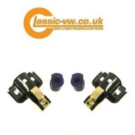Mk1 Golf Front Inner Anti Roll Bar / Wishbone Clamp Set+ Superpro Bushes  171411331 & 171411337
